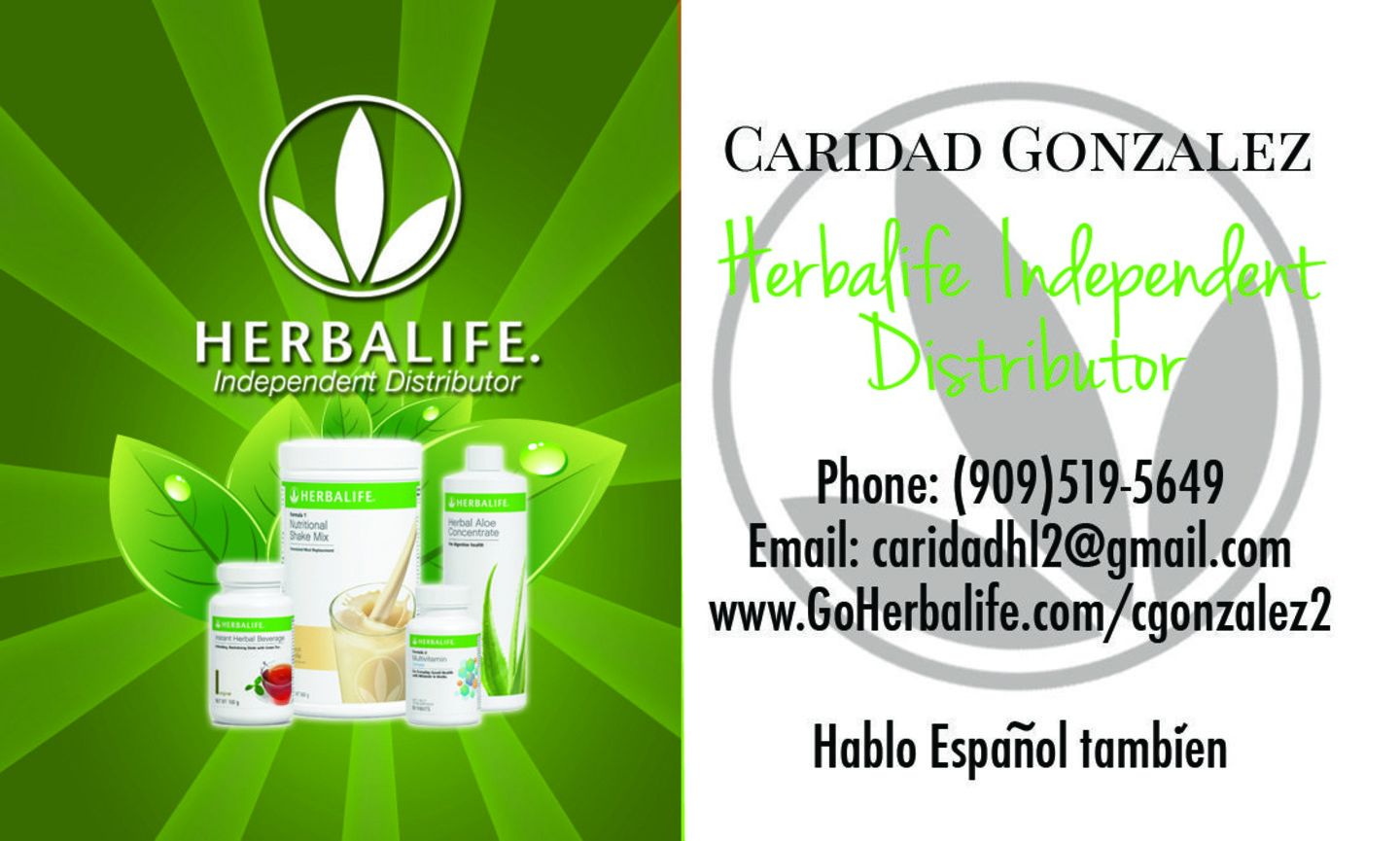 Herbalife Business Cards · Kelly Servis · AwesomeWeb
