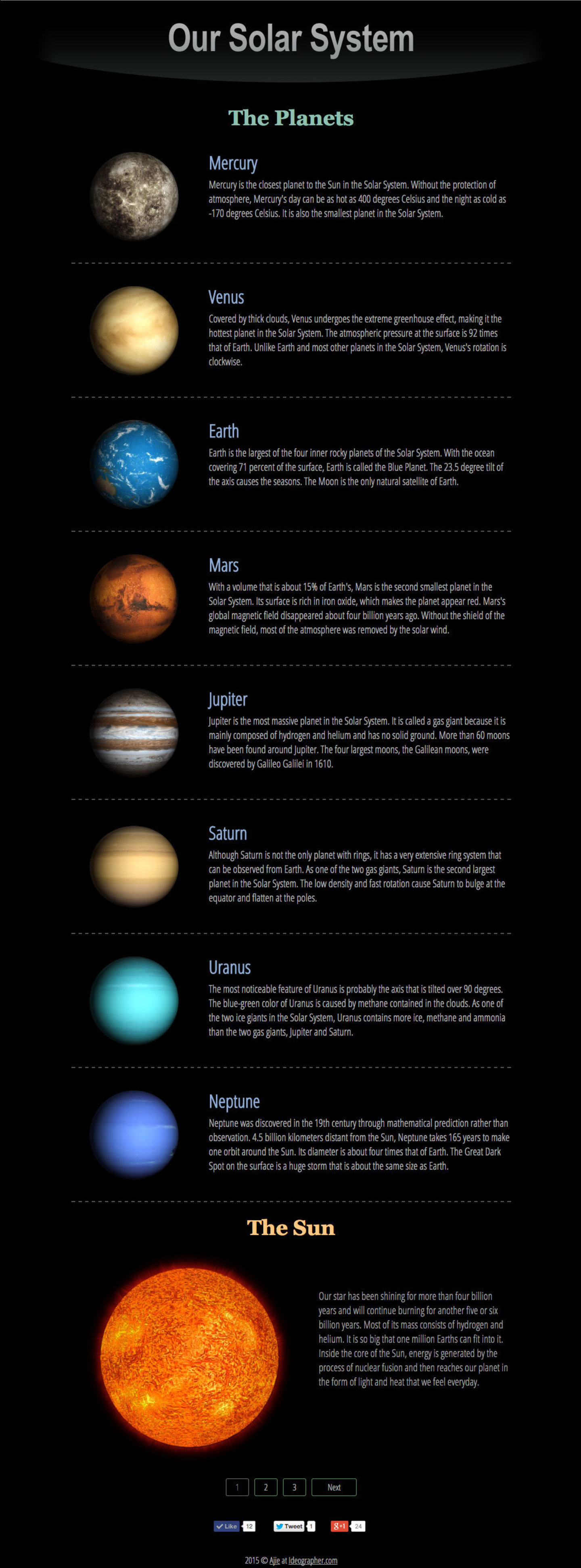 3d solar system web - photo #31