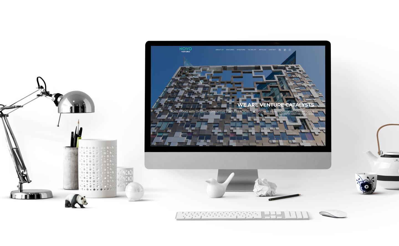 Novo Ventures | Corporate Website | WordPress · Fabrizio