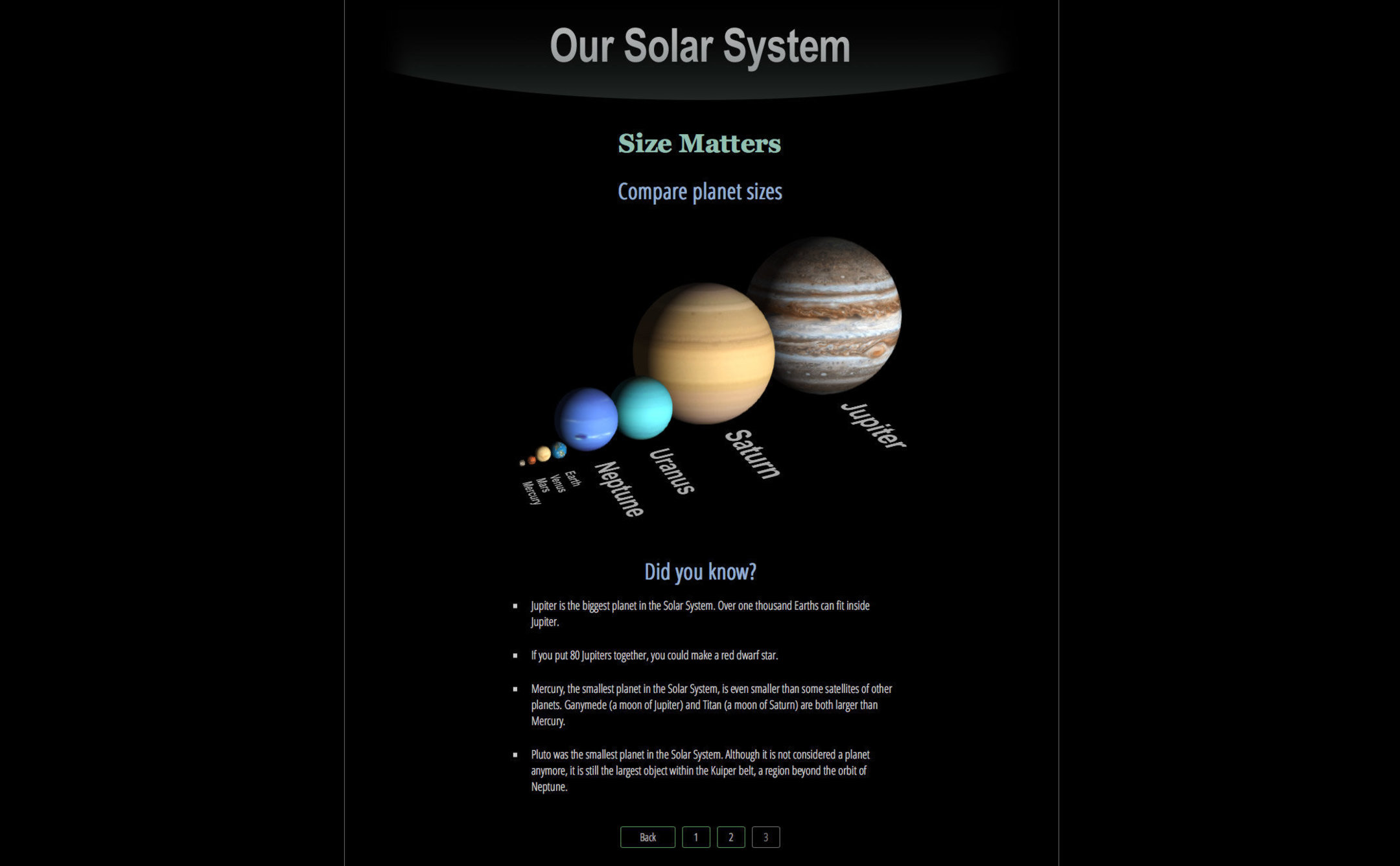 3d solar system web - photo #15